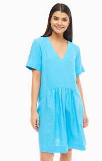 Платье Льняное платье свободного кроя United Colors of Benetton