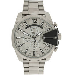 Часы Кварцевые часы с металлическим браслетом Diesel