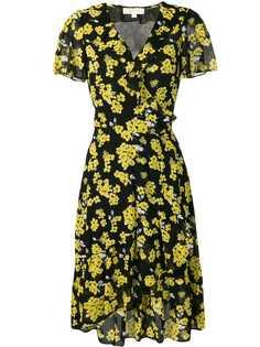 Michael Michael Kors платье миди с цветочным принтом