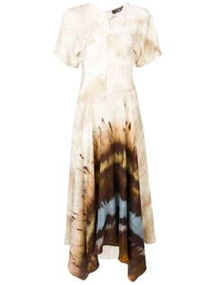 Max Mara платье миди асимметричного кроя