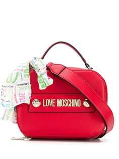 Love Moschino декорированная сумка-тоут с логотипом