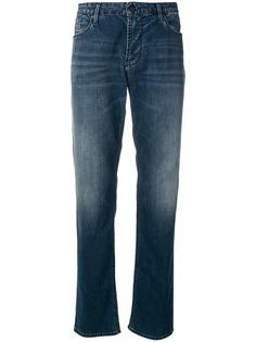 Emporio Armani джинсы прямого кроя