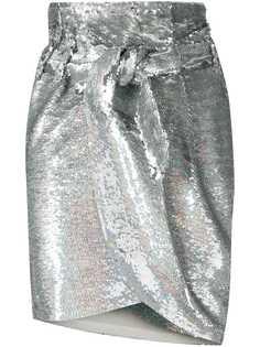 Iro юбка с запахом и пайетками