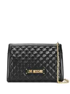 Love Moschino стеганая сумка на плечо