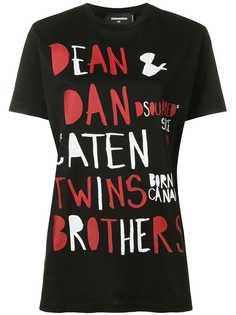 Dsquared2 футболка с логотипом Caten Twins