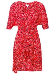 Jovonna платье с принтом пейсли и запахом