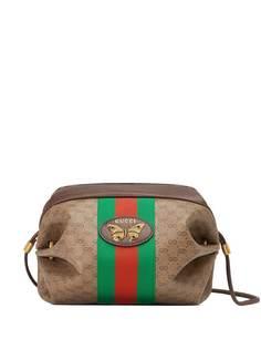 Gucci мини-сумка с узором GG и отделкой Web