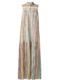 Missoni Mare многослойное платье-рубашка макси