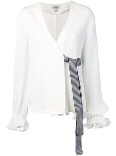 Jovonna блузка с длинными рукавами и запахом