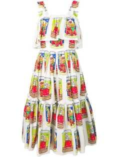 Dolce & Gabbana платье с принтом