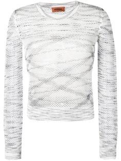 Missoni приталенный свитер