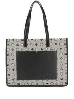 Karl Lagerfeld сумка-шопер из жаккарда