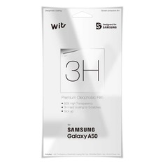 Защитная пленка для экрана SAMSUNG WITS для Samsung Galaxy A50, прозрачная, 1 шт [gp-tfa505wsatw]