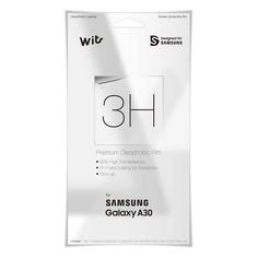Защитная пленка для экрана SAMSUNG WITS для Samsung Galaxy A30, прозрачная, 1 шт [gp-tfa305wsatw]