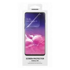 Защитная пленка для экрана SAMSUNG ET-FG973CTEGRU для Samsung Galaxy S10, прозрачная, 2 шт