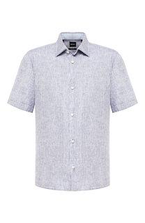 Льняная рубашка BOSS