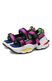 Текстильные сандалии Dsquared2