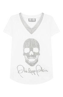 Хлопковая футболка Philipp Plein