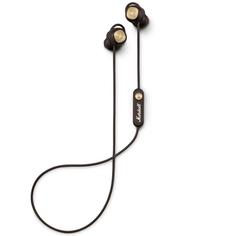 Наушники внутриканальные Bluetooth Marshall Minor II Bluetooth Brown