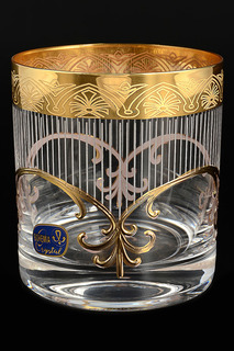Набор стаканов для виски 280мл Bohemia