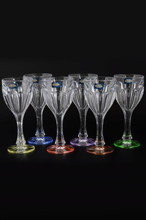Бокалы для вина 190 мл, 6 шт Crystalite Bohemia