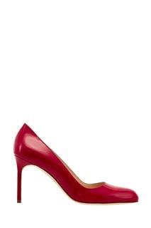 Красные лакированные туфли BBR Manolo Blahnik