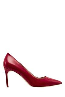 Красные лакированные туфли BB Manolo Blahnik