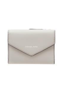 Серый кошелек-конверт Michael Kors