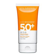 CLARINS Солнцезащитный крем для тела SPF 50+