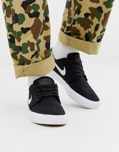 Черные кроссовки Nike SB Janoski - Черный
