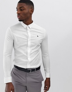 Белая облегающая эластичная рубашка Jack Wills - Белый