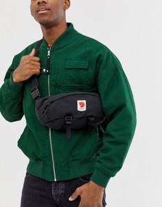 Большая сумка-кошелек на пояс Fjallraven Ulvo - Черный