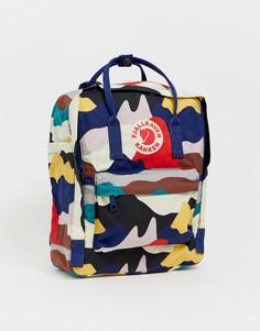 Рюкзак с абстрактным камуфляжным принтом Fjallraven Kanken Art, 16 л - Мульти