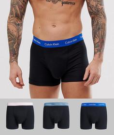 Набор черных хлопковых боксеров-брифов эксклюзивно от Calvin Klein Modern - 3 шт. - Черный