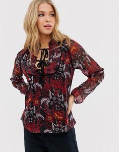 Блузка с цветочным принтом Glamorous - Мульти