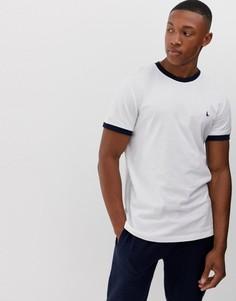 Белая футболка с кантом Jack Wills Baildon - Белый
