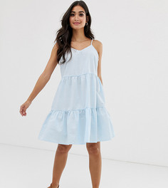 Ярусное платье мини на тонких бретельках Vero Moda Petite - Мульти
