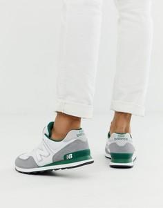 Белые кроссовки New Balance - 574 - Белый