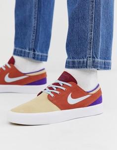 Кроссовки в стиле пэтчворк Nike SB Zoom Janoski - Мульти