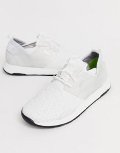 Белые кроссовки BOSS Titanium - Белый