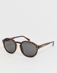 Круглые солнцезащитные очки в коричневой черепаховой оправе Cheap Monday Cytric - Коричневый