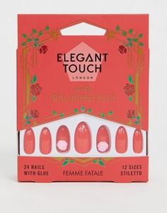 Накладные ногти Elegant Touch X Paloma Faith - Femme Fatale - Красный