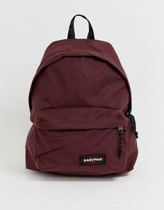 Рюкзак винного цвета с уплотнением Eastpak pakr - Красный