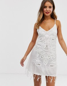 Платье-комбинация Raga Nomad - Белый