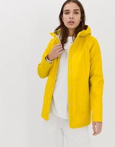 Водонепроницаемая куртка с капюшоном Herschel - Желтый