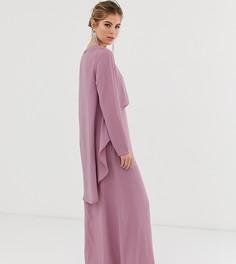 Платье с длинными рукавами Verona - Розовый
