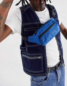 Синяя сумка-кошелек Weekday - Синий