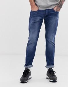 Выбеленные узкие джинсы стретч Replay - Anbass - Синий