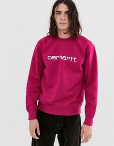 Розовый свитшот Carhartt WIP - Розовый