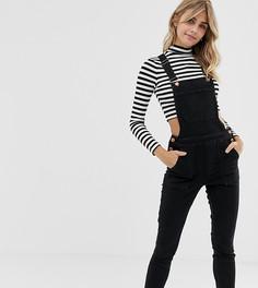 Черный джинсовый комбинезон Miss Selfridge - Черный